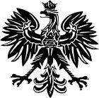 Polish Eagle Emblem For Car Window Truck Laptop Vinyl Decal Sticker