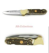 PUMA 2+2 ergon II stag Jagd-Taschenmesser pocket knife Handmade Rockwell 210651