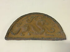Antique Chinese Poss. Ancient Terra Cotta Temple Roof Tile Dragon Mythical Beast