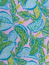 Lilly Pulitzer Cotton Blend Fabric Urchin Pink Vitamin Sea 1 yard (36¨x 60¨)