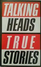 TALKING HEADS - True Stories (Cassette) 9 Tracks - EMI  - 1986