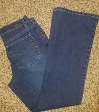 Gloria Vanderbilt Womens Jeans Size 8 Short Denim DARK Wash Ladies.  A70