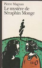 Pierre Magnan - Le mystère de Séraphin Monge - 1993 Folio - bon état - 19/5