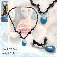 Movie Moana necklace Cosplay Polynesia princess Pendant Plastic Seashel Necklace