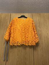 Peruna Orange Long Sleeved Top Size 20