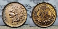 "1865 Indian Head Cent 1c ""Fancy Five"" Beautiful Choice BU"