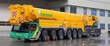 WSI 1/87 SCALE HAREKET - LIEBHERR LTM 1750-9.1 MOBILE CRANE MODEL BN 71-2011