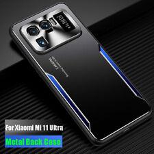 For Xiaomi Mi 11 Ultra, Luxury Metal Aluminum Hybrid Armor Bumper Cover Case