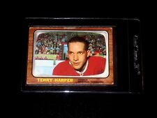 1966-67 TOPPS VINTAGE HOCKEY CARD# 68 TERRY HARPER (MONTREAL CANADIENS)  EX
