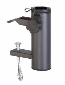 Balkon Sonnenschirm Halterung - Metall Balkongeländer Schirm Halter Befestigung