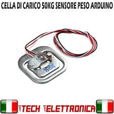 Cella di carico 0-50Kg bilancia sensore peso arduino pic