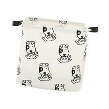 Household Foldable Laundry Basket Sundries Storage Hamper Bathroom,Dog