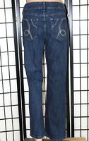 "LEE RIDERS Women's Size 14 P Petite Mid Rise Boot Cut Stretch Jeans 29"" Inseam"