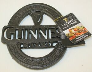 Guinness Hot Plate Trivet with Tags .RE16EA