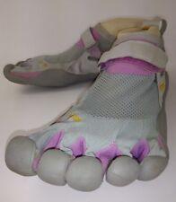 Vibram 1459 Wos Shoes Five Fingers EU41 Gray Purple Hook/Loop Athletic Water 784