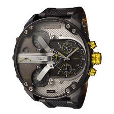 Diesel Men's Mr. Daddy 2.0 DZ7422 57mm Black Dial Nylon Watch