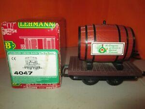LGB 4047 Wine Barrel Car G Scale Train in Original Box