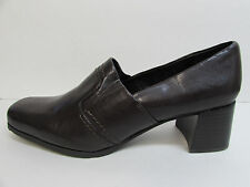 Franco Sarto Size 9 Brown Loafers Heels New Womens Shoes