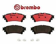 For Lexus GS350 RX350 Toyota Prius V Sienna Brake Pad Set Rear V6 Brembo P83152N