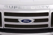 Super Duty Vinyl Inserts Grille Decals For Ford F250 F350 F450 2008-2016 SILVER