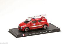 Camion sapeurs pompier ELECTRICAL PROTO H20/PEUGEOT CITROEN 1:43 Delprado CBO062