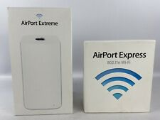 Apple Airport Routers Empty Box Lot Extreme Express Inserts Documents