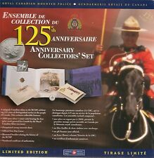 1998 Royal Canadian Mounted Police 125 th Anniversaire Coin Collector Set..New
