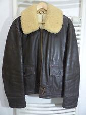 ORIGINALE m-445b anj-4 USN filght Jacket/Giacca 42 Peters Sportswear 40s 50s Buzz