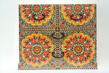Wood handmade Chest of 4 drawers Decpupage keepsake Morocco design