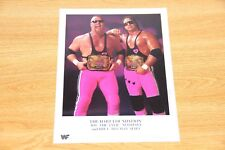 Bret Hart Foundation color wwe wwf 8.5x11 wrestling official promo photo P-013