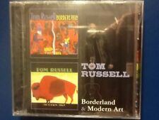TOM. RUSSELL.         BORDERLAND.     /.     MODERN. ART.        TWO DISC BOXSET