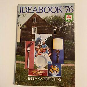 Vintage 1976 S&H Green Stamp Ideabook Of Merchandise Catalog Brochure
