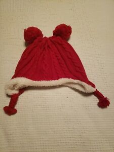GYMBOREE Infant Boy Red Winter Hat Size Small
