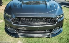 Carbon LG239 Style Front Bumper Up Grille For 2015-2016 Ford Mustang Trufiber