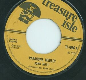 """ PARAGON'S MEDLEY. "" john holt. TREASURE ISLE 7in 1971."