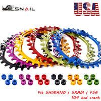 104bcd 30T Narrow Wide Chainring MTB Bike Crankset Crank Sprocket Chainwheel CNC
