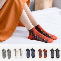 Women Girls Cotton Trainer Socks Liner Ankle 1 Pairs Pack Ladies Socks