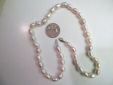 18'' FRESHWATER BUTTON PERAL NECKLACE