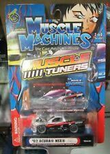Muscle Machines Muscle Tuners '02 Acura NSX 1:64 Import Honda JDM Racer F&F