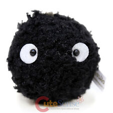 "My Neighbor Totoro Soot Sprite  Dust Bunny 3"" Mini Plush Doll Key Chain"