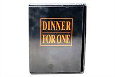 FILM BOX,DINNER FOR ONE,VHS-FILM,SCHWARZ/WEISS,CA.11MIN,INKL.WEINFLASCHE,OVP