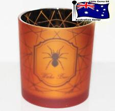 YANKEE CANDLE ~ Spider Web Orange Spider Flickering ~ HALLOWEEN Votive HOLDER