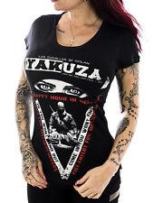 Yakuza Größe XS Damen-T-Shirts aus Baumwolle