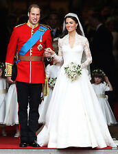 Royal Wedding - Prince William and Kate Middleton - 8x10 Color Photo