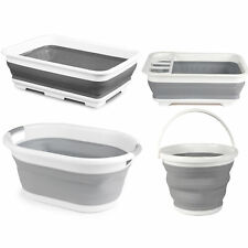 Beldray COMBO-3399 Collapsible Laundry Basket, Mop Bucket, Dish Drainer and Bowl