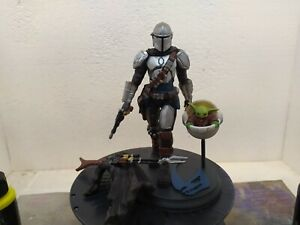 The Mandalorian 3D printed and painted  MADE ON ORDER