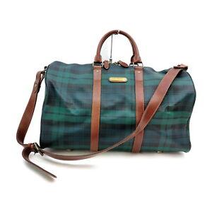 Polo Ralph Lauren Boston Bag  Greens PVC 1528808