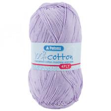100/% Cotton 4 Ply 100g Ball Patons Yarn Jade