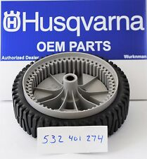 Husqvarna OEM 532401274 Wheel Replaces 401274X460 and  401274 WHEELS