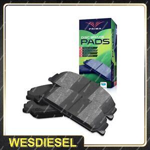 4x Front Brake Pads Maker Of Bendix fits Nissan 180SX 200SX S13 2.0 350Z Z33 3.5